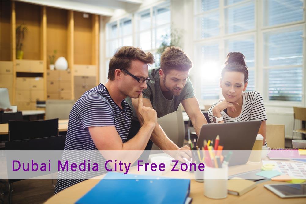 Business Setup in Dubai Media city free zone