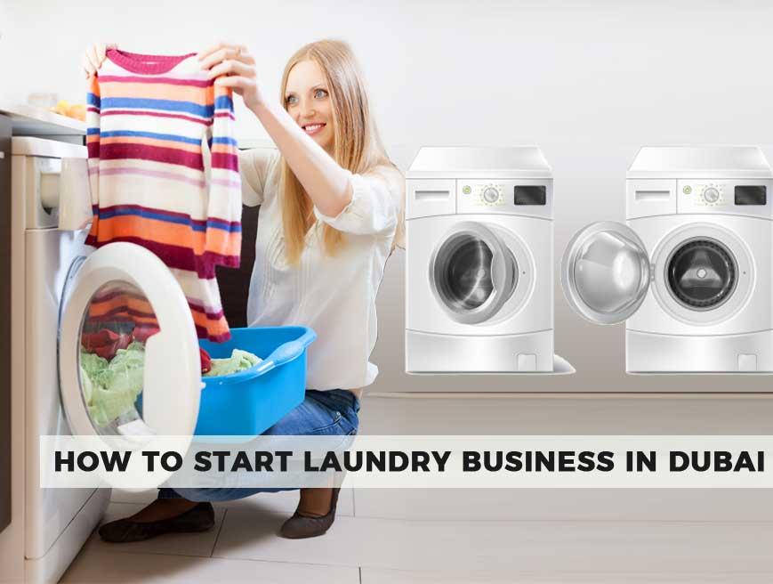 Start A Laundry Business In Dubai