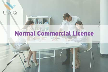 UAQ Normal Commercial Licence